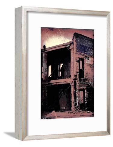 La Grande Finale 4 - Mauve-Pascal Normand-Framed Art Print
