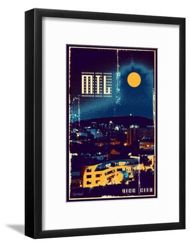 Montreal Trio II-Pascal Normand-Framed Art Print