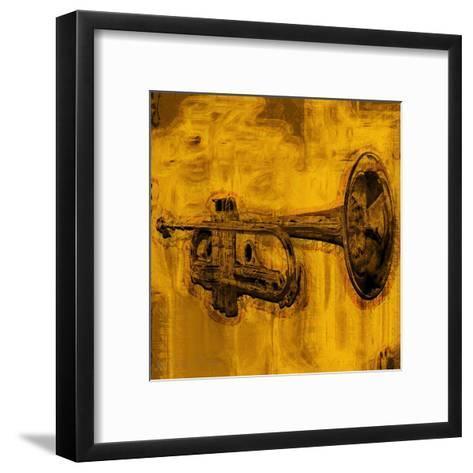 Music II-Jean-Fran?ois Dupuis-Framed Art Print