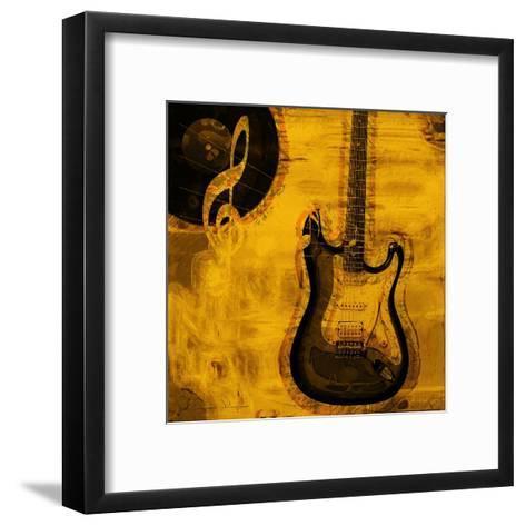 Music III-Jean-Fran?ois Dupuis-Framed Art Print