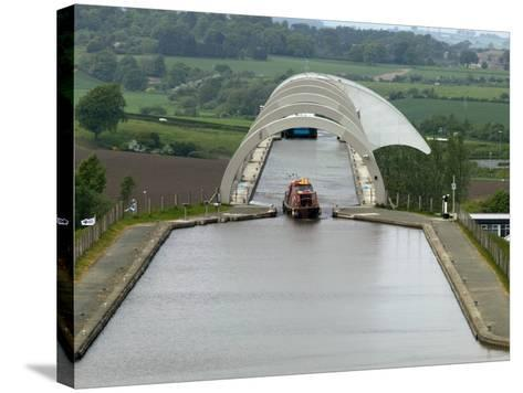 Falkirk Wheel Canal Boatlift-Doug McKinlay-Stretched Canvas Print