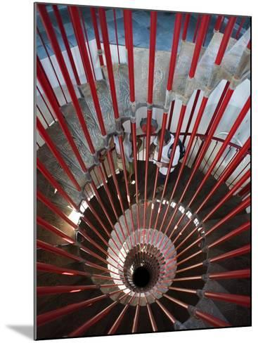 Tower Staircase Detail in Ljubljana Castle-Christopher Groenhout-Mounted Photographic Print