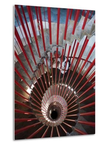 Tower Staircase Detail in Ljubljana Castle-Christopher Groenhout-Metal Print