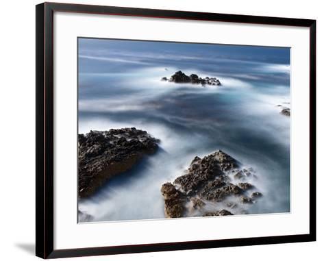 Rocks Below Soberanes-Douglas Steakley-Framed Art Print