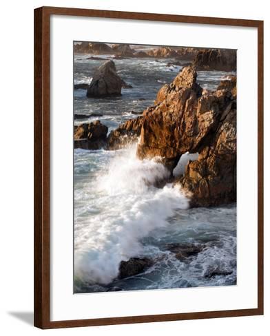 Surf at Soberanes-Douglas Steakley-Framed Art Print
