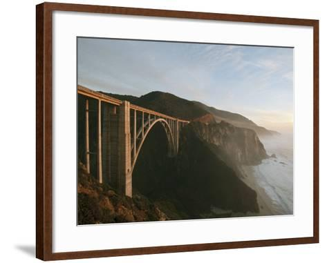 Bixby Bridge-Douglas Steakley-Framed Art Print