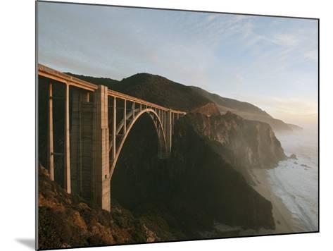 Bixby Bridge-Douglas Steakley-Mounted Photographic Print