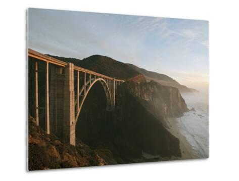 Bixby Bridge-Douglas Steakley-Metal Print