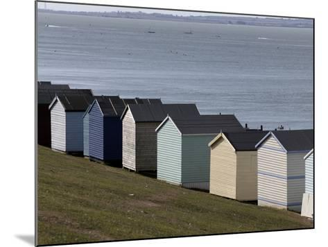 Colourful Beach Huts at the Seaside in Whitstable-Doug McKinlay-Mounted Photographic Print