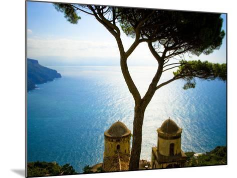 View from the 13th Century Villa Rufolo in Ravello, Amalfi Coast-Glenn Beanland-Mounted Photographic Print