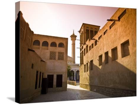 Historic Bastakia Quarter in Bur Dubai-Glenn Beanland-Stretched Canvas Print