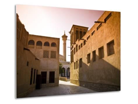 Historic Bastakia Quarter in Bur Dubai-Glenn Beanland-Metal Print