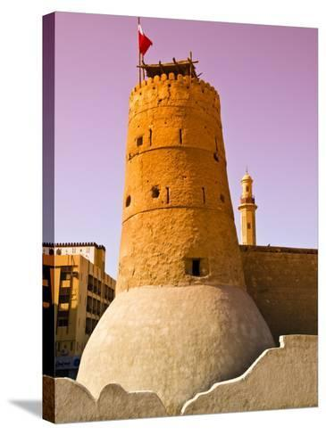 Exterior of Historic Dubai Museum-Glenn Beanland-Stretched Canvas Print