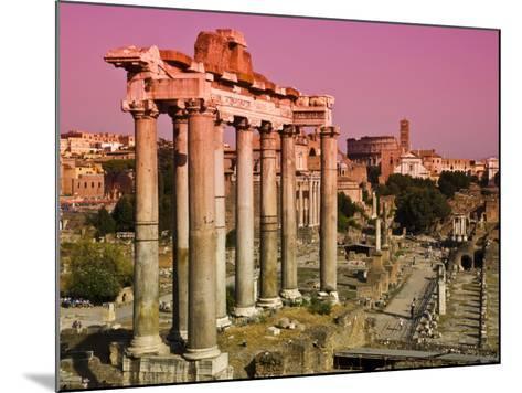 Roman Forum from Capitoline Hill-Glenn Beanland-Mounted Photographic Print