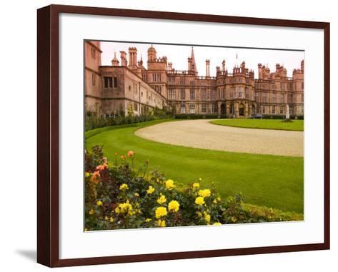 Burghley House Stately Home-Glenn Beanland-Framed Art Print