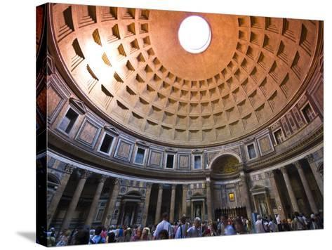 Interior of the Pantheon-Glenn Beanland-Stretched Canvas Print