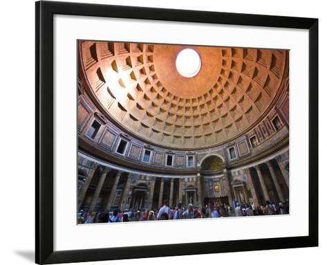 Interior of the Pantheon-Glenn Beanland-Framed Art Print