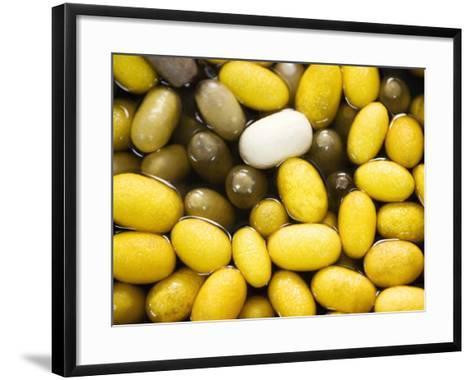 Silk Worm Cocoons-Felix Hug-Framed Art Print