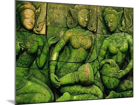 Terracotta Sculptures at Ban Phor Liang Meun Ceramics-Frank Carter-Mounted Photographic Print