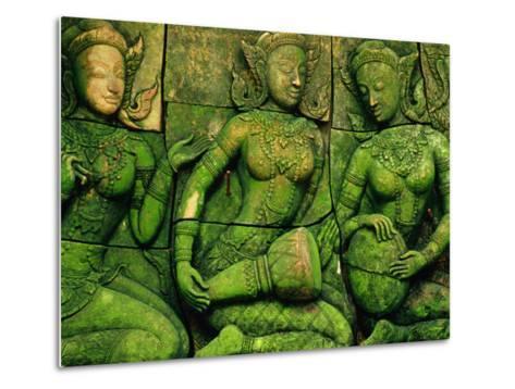 Terracotta Sculptures at Ban Phor Liang Meun Ceramics-Frank Carter-Metal Print