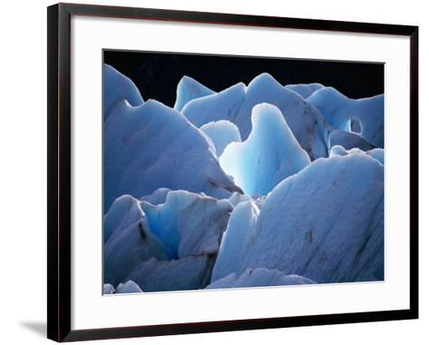 Interlocking Seracs of the Glaciar Torre-Gareth McCormack-Framed Art Print