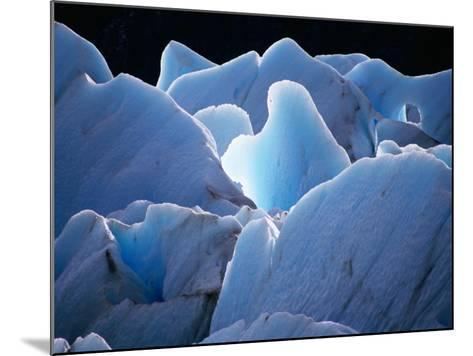 Interlocking Seracs of the Glaciar Torre-Gareth McCormack-Mounted Photographic Print