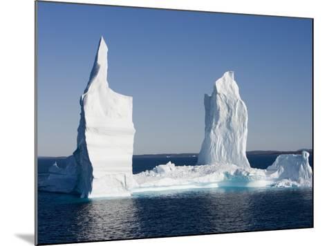 Iceberg from Ilulissat Kangerlua Icefjord-Holger Leue-Mounted Photographic Print