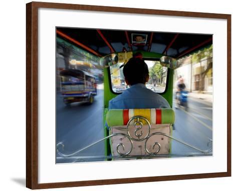 Tuk Tuk Taxi-Jean-pierre Lescourret-Framed Art Print