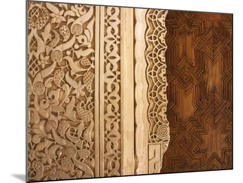 Patio De Los Leones (Palacios Nazaries in Nasrid Palace, Alhambra-Karl Blackwell-Mounted Photographic Print