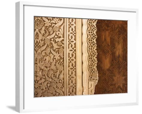 Patio De Los Leones (Palacios Nazaries in Nasrid Palace, Alhambra-Karl Blackwell-Framed Art Print