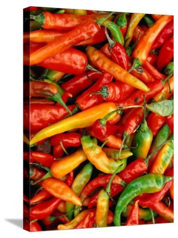 Chillies-Jean-Bernard Carillet-Stretched Canvas Print