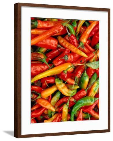 Chillies-Jean-Bernard Carillet-Framed Art Print