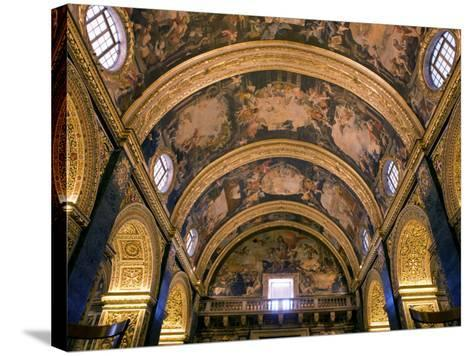 St. John's Co-Cathedral-Jean-pierre Lescourret-Stretched Canvas Print