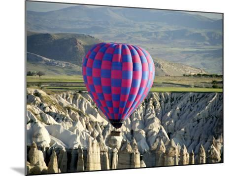 Balloon Ride over Capadoccia-Mark Avellino-Mounted Photographic Print