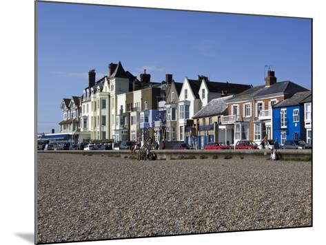 Seafront Buildings at Aldeburgh-Neil Setchfield-Mounted Photographic Print