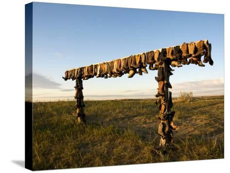 Boot Rack-Mark Newman-Stretched Canvas Print