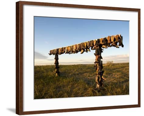 Boot Rack-Mark Newman-Framed Art Print