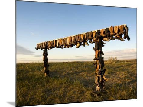 Boot Rack-Mark Newman-Mounted Photographic Print