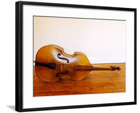 3/4 Size Double Bass-Oliver Strewe-Framed Art Print