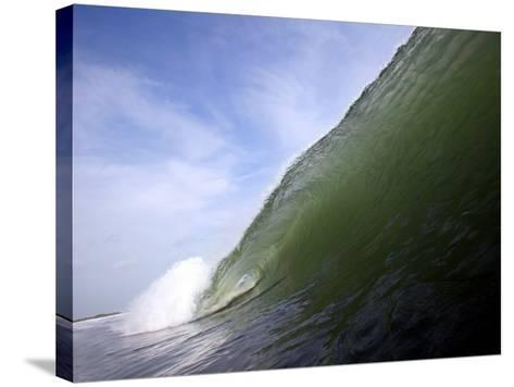 Unridden Wave at Popular Surfing Beach Playa Aserradores-Paul Kennedy-Stretched Canvas Print