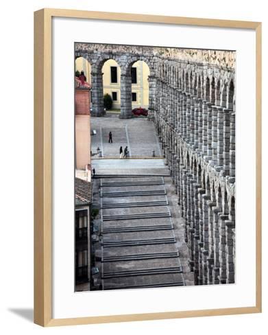 Roman Aqueduct (Aqueduct of Segovia)-Bruce Bi-Framed Art Print