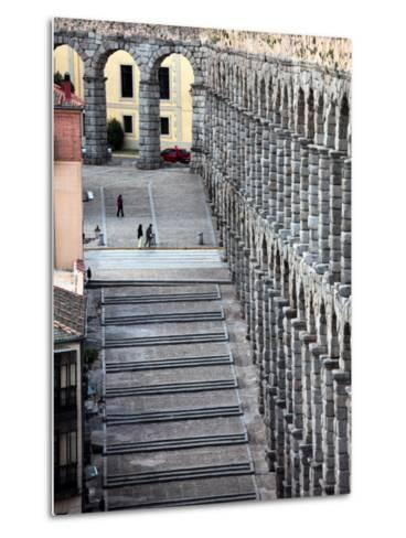 Roman Aqueduct (Aqueduct of Segovia)-Bruce Bi-Metal Print