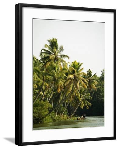 Backwater Scene from Monroe Island-Anders Blomqvist-Framed Art Print