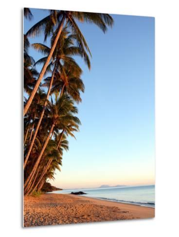 Dawn on Ellis Beach, Near Palm Cove-Andrew Bain-Metal Print