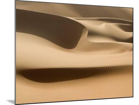 Sand Dunes, Rub Al Khali Desert-Aldo Pavan-Mounted Photographic Print