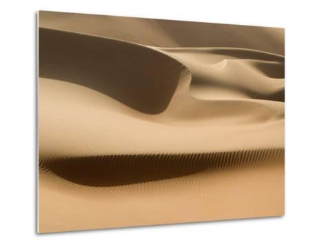 Sand Dunes, Rub Al Khali Desert-Aldo Pavan-Metal Print
