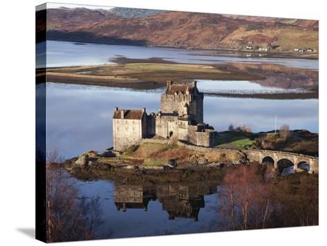 Eilean Donan Castle-Sean Caffrey-Stretched Canvas Print