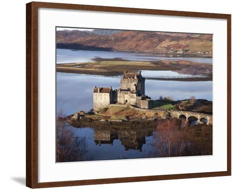 Eilean Donan Castle-Sean Caffrey-Framed Art Print