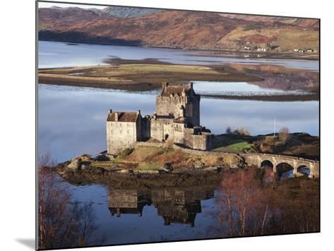 Eilean Donan Castle-Sean Caffrey-Mounted Photographic Print