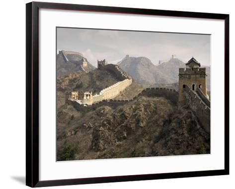 Great Wall of China-Sean Caffrey-Framed Art Print